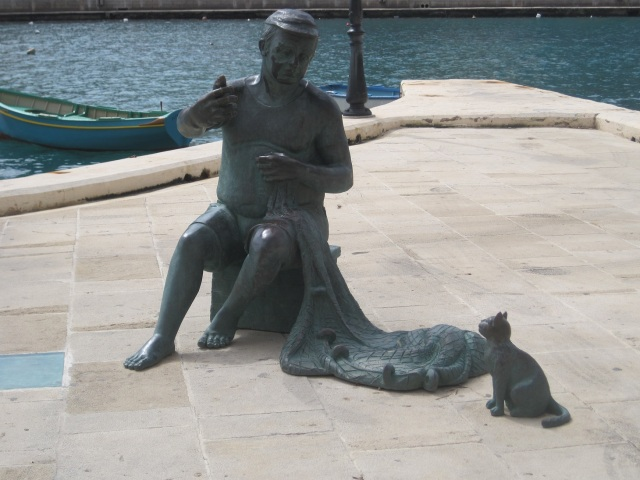 20150320 IMG_2162 st julians fisherman statue